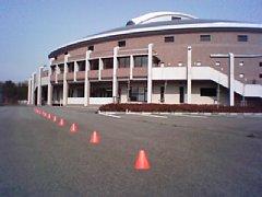 小野町町民体育館駐車場